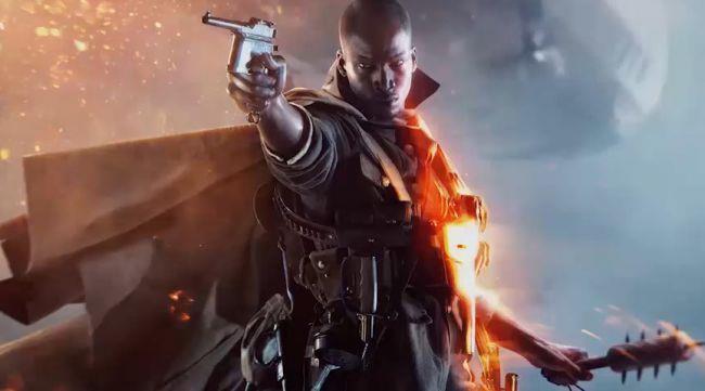 La cover art ufficiale di Battlefield 1