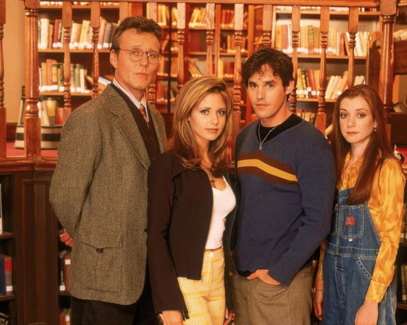 Il cast di Buffy