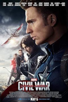 Gli Avengers che compongono il team di Capitan America