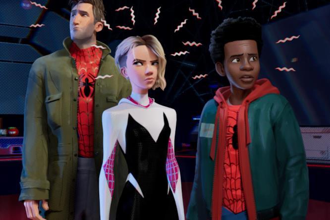 I sensi di ragno di Peter, Gwen e Miles