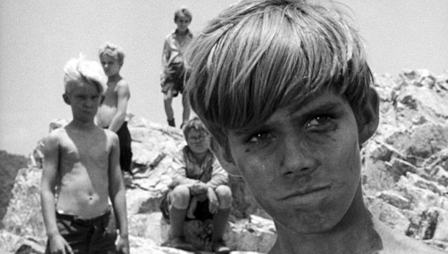 Una scena de Il signore delle mosche (1963)
