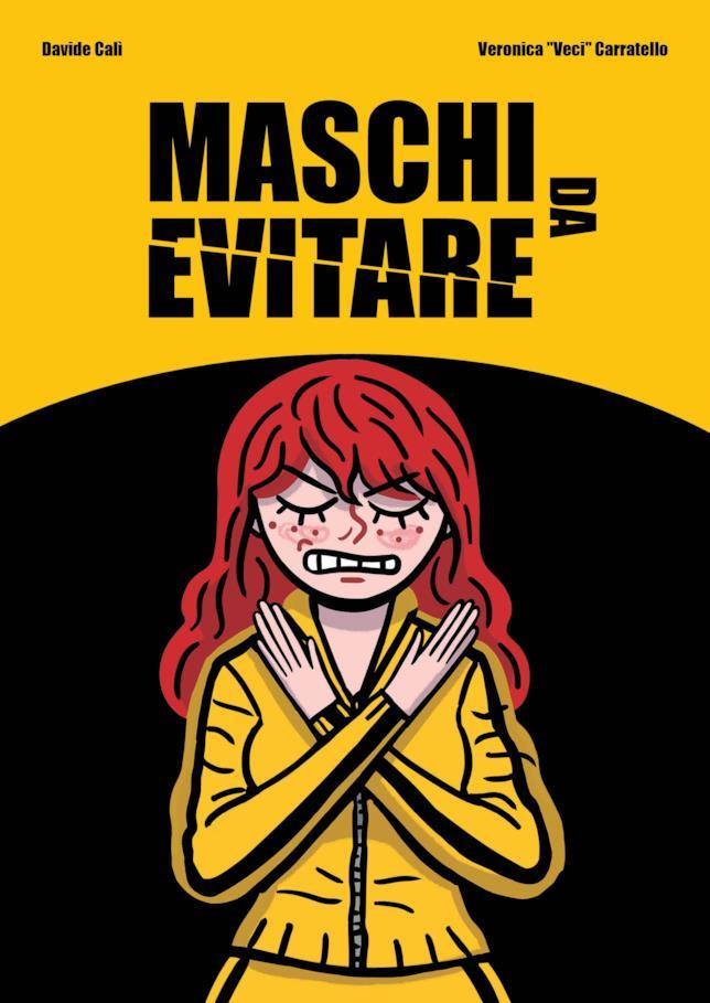 La copertina del fumetto Maschi da evitare