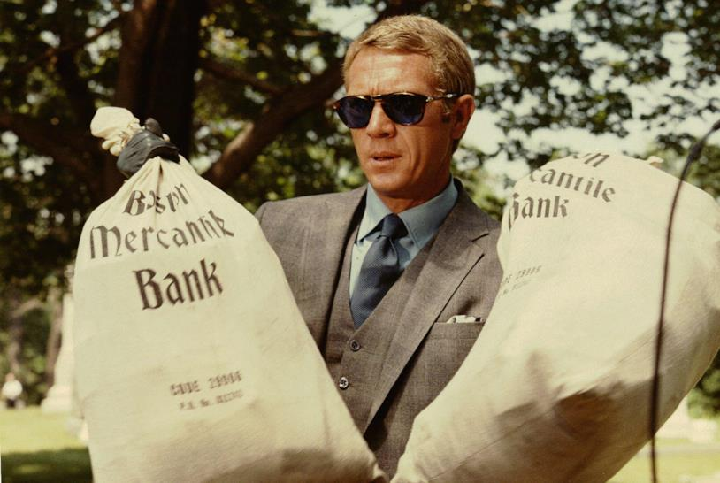 Steve McQueen in una scena del film