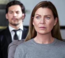 Meredith in una scena tratta dal 350° episodio