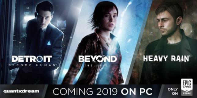 Epic Games Store accoglie le tre opere più famose di David Cage