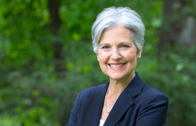 Jill Stein in primo piano