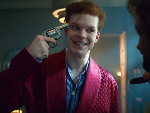 Cameron Monaghan è Jerome Valeska in Gotham