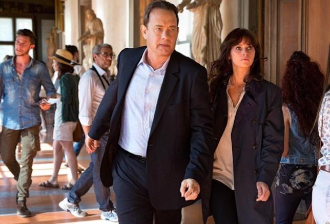 Tom Hanks e Felicity Jones protagonisti di Inferno