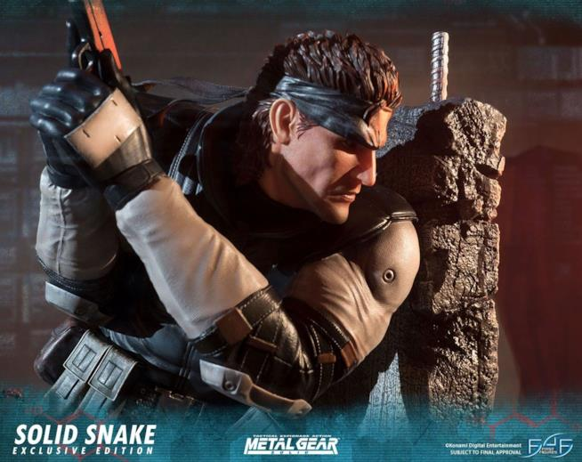 First 4 Figures festeggia i 30 anni di Metal Gear Solid