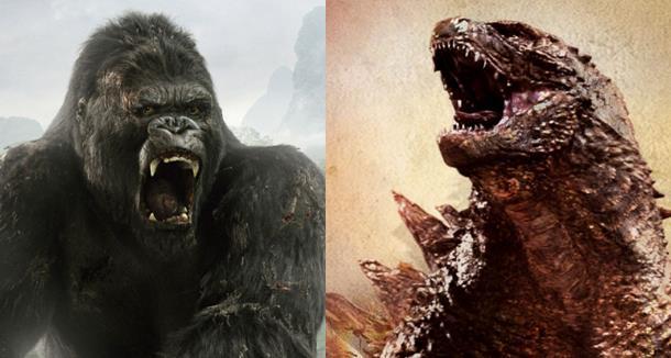 I mostri King Kong e Godzilla
