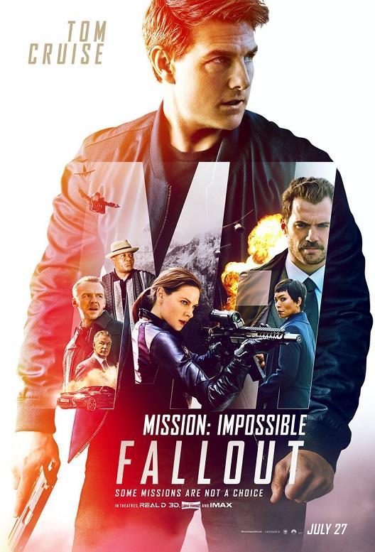 Il poster di Mission: Impossible - Fallout