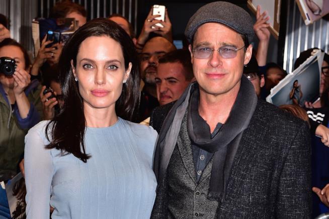 Angelina Jolie insieme a Brad Pitt
