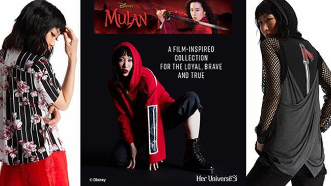 Linea abbigliamento Mulan