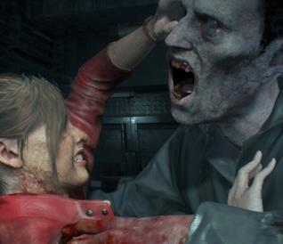 Resident Evil 2: Remake, il Licker mostra finalmente il suo volto