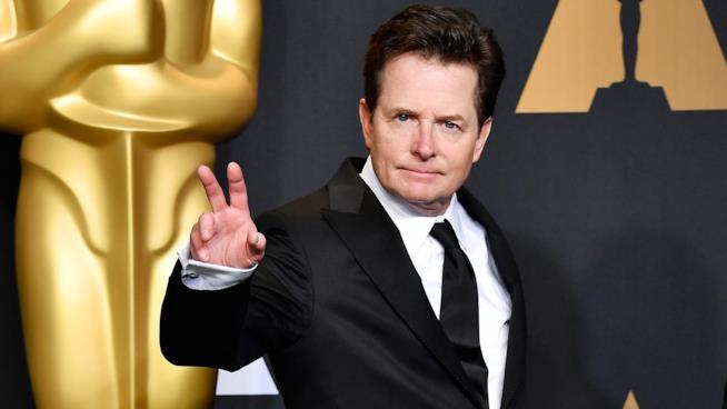 Michael J. Fox sul red carpet degli Oscar