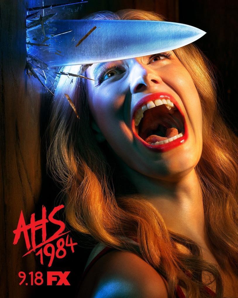 American Horror Story: 1984. Uno dei poster