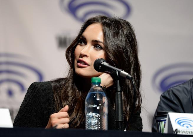 Megan Fox alla conferenza di
