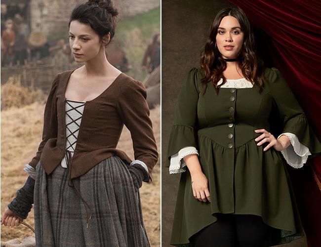 Un abito della collezione donna Outlander