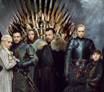 Daenerys Targaryen, John Snow e gli altri personaggi principali di Game of Thrones