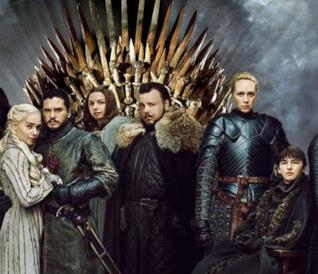 Daenerys Targaryen, John Snow e gli altri personaggi principali di Game of Thrones