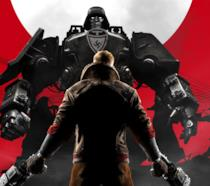 William Blazkowicz campeggia in un artwork di Wolfenstein II: The New Colossus
