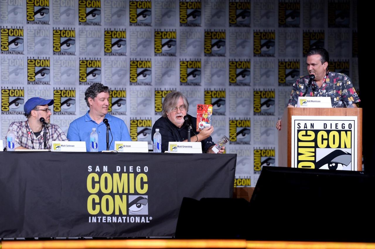 Al Jean e Matt Groening al Comic-Con di San Diego