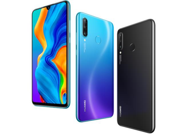 Huawei P30 Lite nelle sue diverse colorazioni