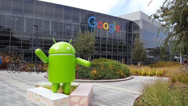Foto di Googleplex, il quartier generale di Google di Mountain View