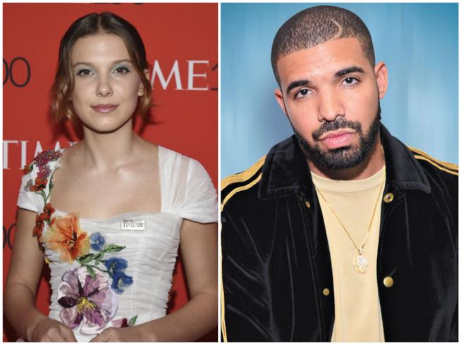 Millie Bobby Brown e Drake