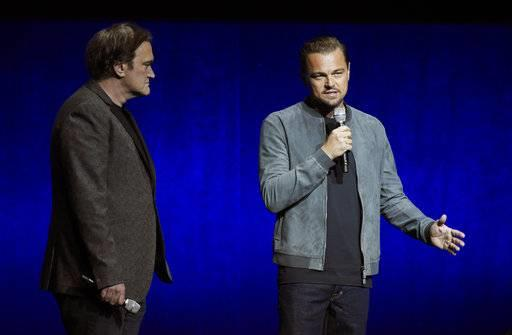 Quentin Tarantino e Leonardo Di Caprio