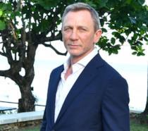 Daniel Craig alla presentazione di Bond 25