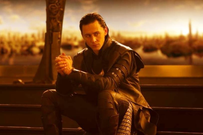 Un'immagine di Loki, interpretato da Tom Hiddleston