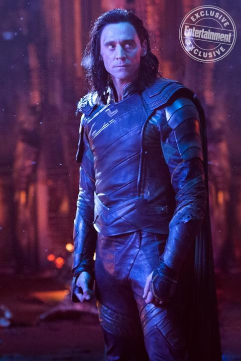 Loki in una delle scene iniziali di Avengers: Infinity War