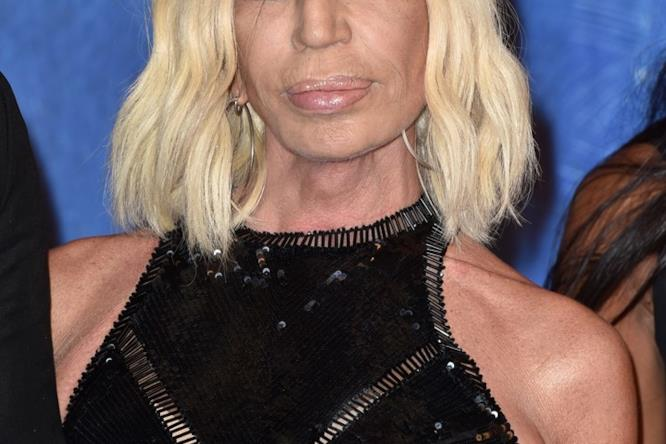 Donatella Versace a Venezia 73