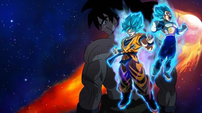 Dragon Ball Super Broly Goku e Vegeta