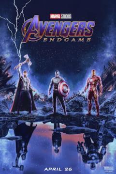 Thor, Capitan America e Iron Man: il psoter di Endgame