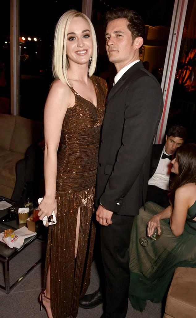 Katy Perry e Orlando Bloom agli Oscar