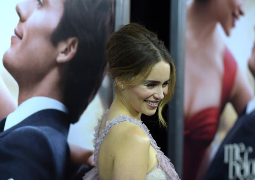 Io Prima di Te, Emilia Clarke alla premiere del film