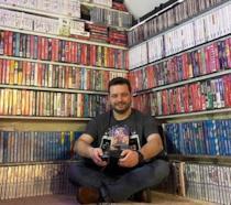 L'americano Antonio Monteiro e la sua collezione di videogiochi