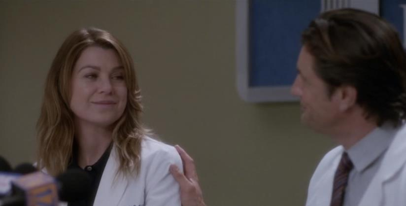 Meredith Grey e Nathan Riggs
