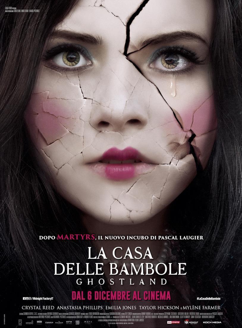 Il poster ufficiale in italiano de La casa delle bambole - Ghostland