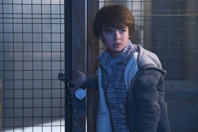 Zach Goodweather è interpretato da Max Charles