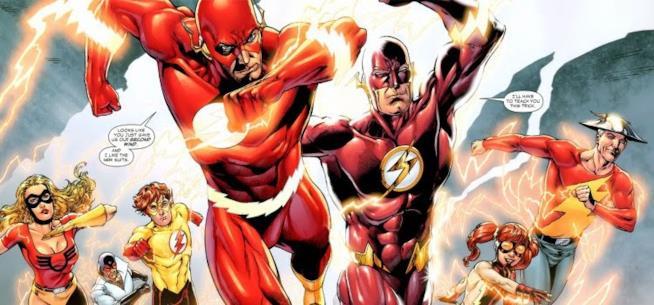 Tutte le incarnazioni di Flash
