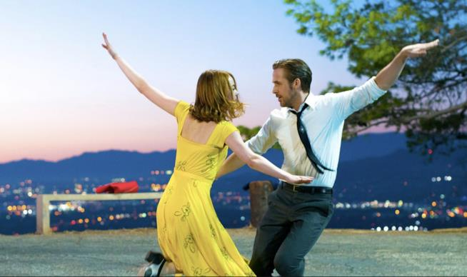 La scena del ballo in La La Land