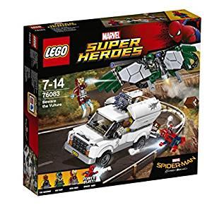 Scatola Spider-Man Homecoming Lego