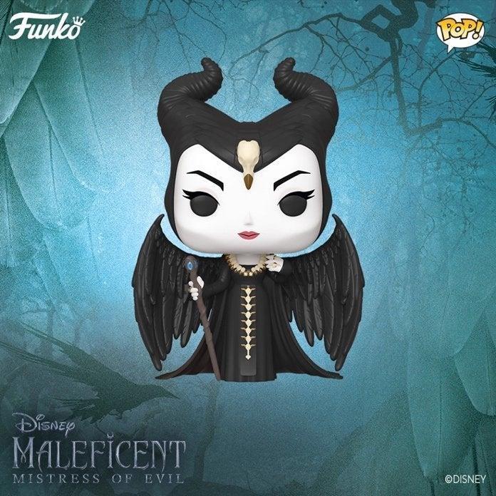 Un'immagine del Funko!POP dedicato a Maleficent: Signora del Male