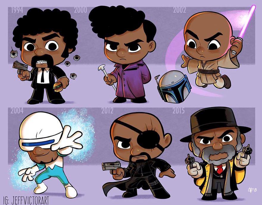 L'evoluzione delle icone della cultura pop: Samuel L. Jackson