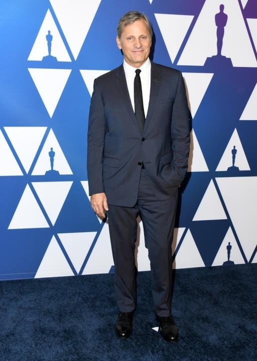 Viggo Mortensen all'Oscar Luncheon 2019
