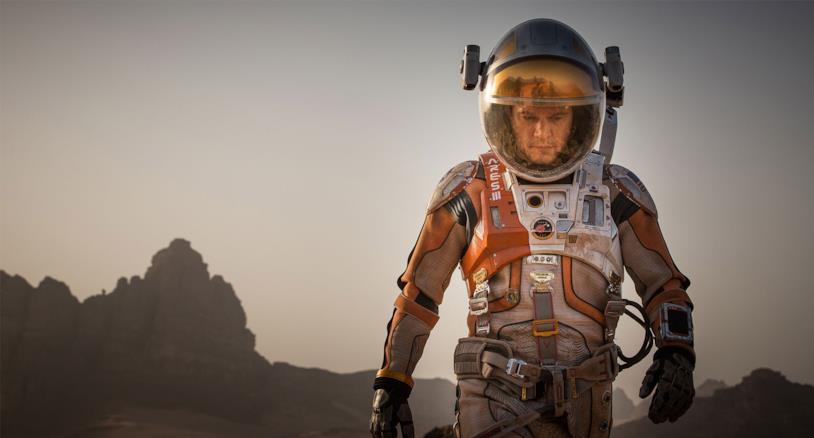 Matt Damon in una scena del film