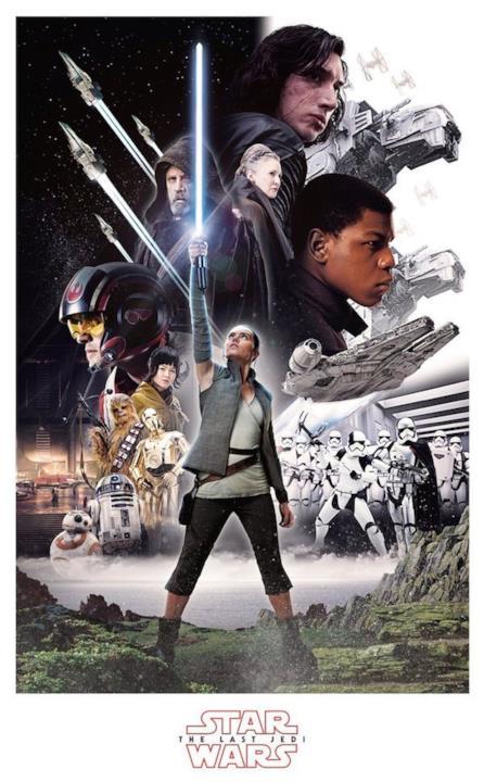 Un nuovo manifesto del nuovo capitolo di Star Wars